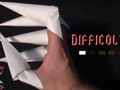 [ORIGAMI ITA] Artigli || Origami di Carnevale e Halloween.Per Bambini (E Non Solo!)