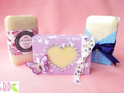 3 Packaging Saponette Handmade - 3 Handmade Soap Packaging