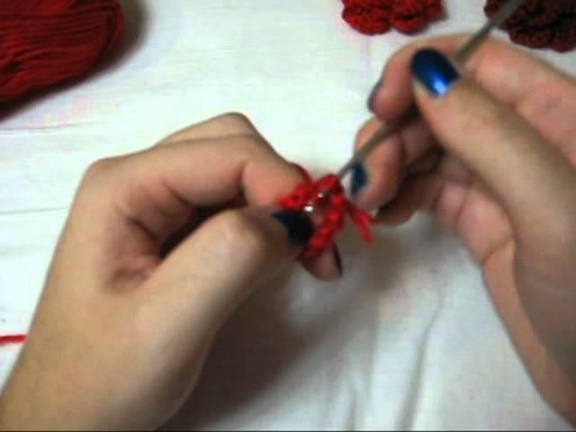 Crochet Flower -First Part- (ENG SUBS)