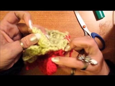 Cucitura del punto coccodrillo a crochet - Tutorial uncinetto