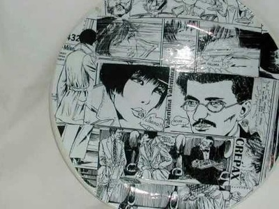 Decoupage Comics Table Mats - Il Decoupage di Ileana Ottini - Sottopiatti a fumetti