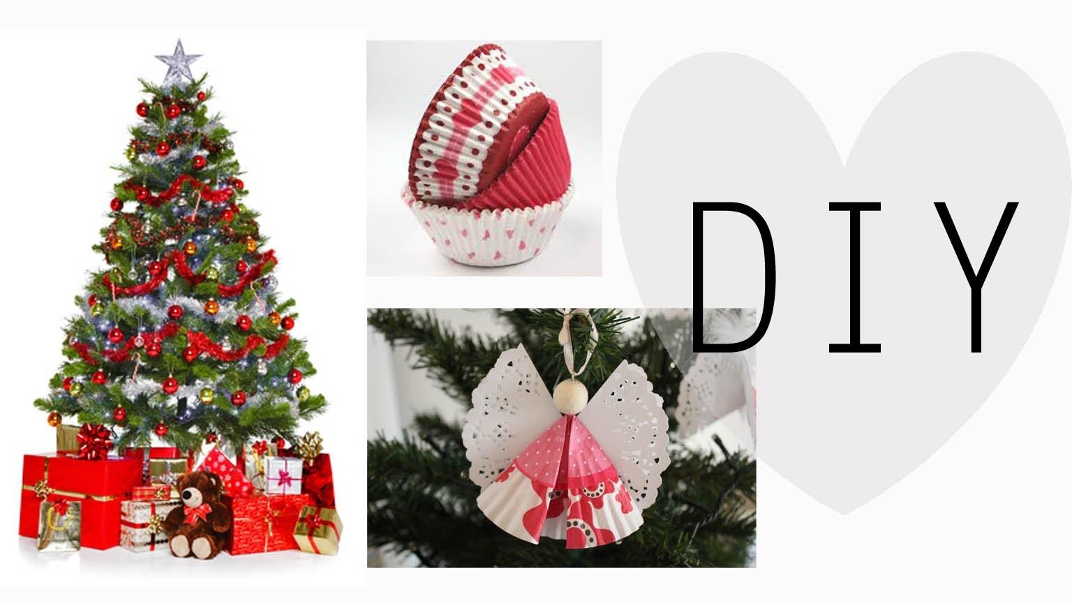 DIY: Decorazioni per Albero di Natale con PIROTTINI DI CARTA