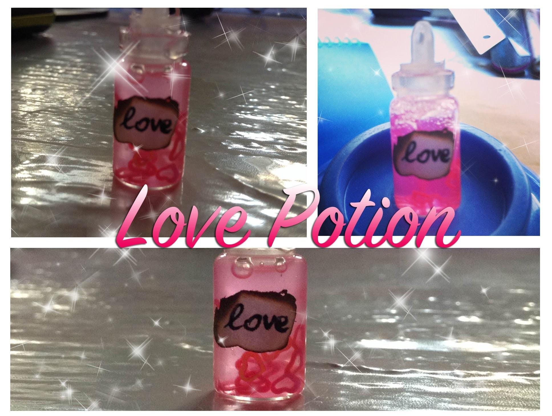 DIY - Tutorial ❥ Love Potion Bottle