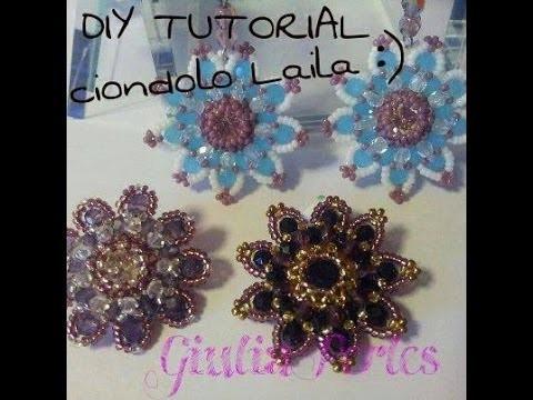 DIY Video tutorial: ciondolo Laila :)