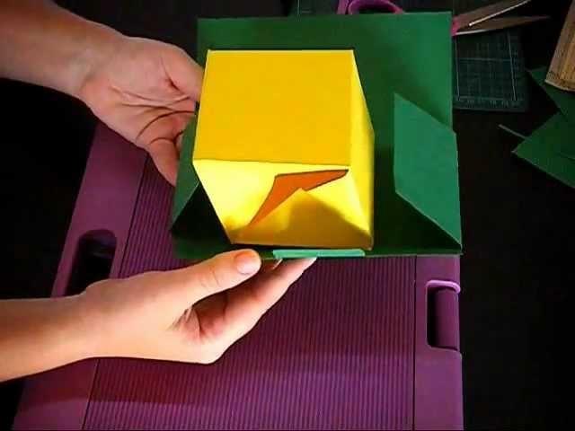 EXPLOSION CARD  prove tecniche per una Scrap card con effetto sorpresa!!!