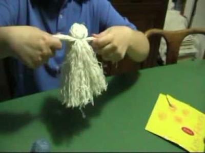 Realizzare bambole di lana