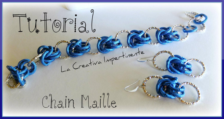 Tutorial Chainmaille - idee per creare con la Mezza Maglia Bizantina - parte 1 |  bracelet, earrings