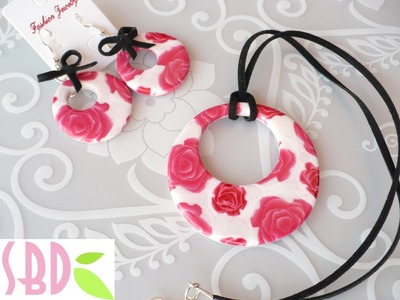 Tutorial Fimo: Parure Fiorita - Flowered jewel set