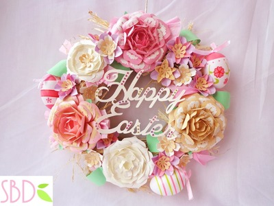 Tutorial Ghirlanda Pasquale - Easter wreath