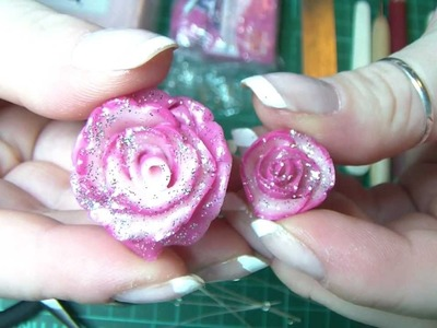 Tutorial Rosa in Fimo. Cernit - Polymer clay Rose - Creazioni
