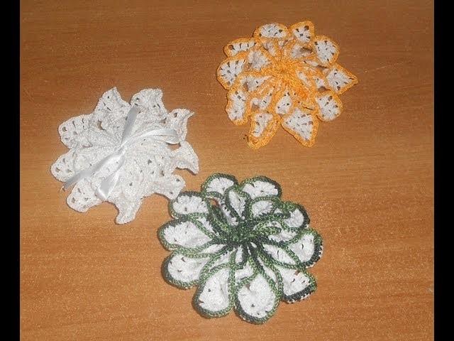 Uncinetto croche  porta saponette parte 3  Crochet Soap Saver Ganchillo Jabon