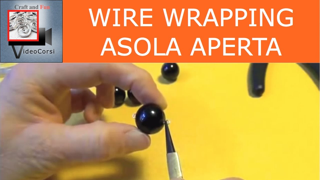 Wire wrapping - Asola aperta