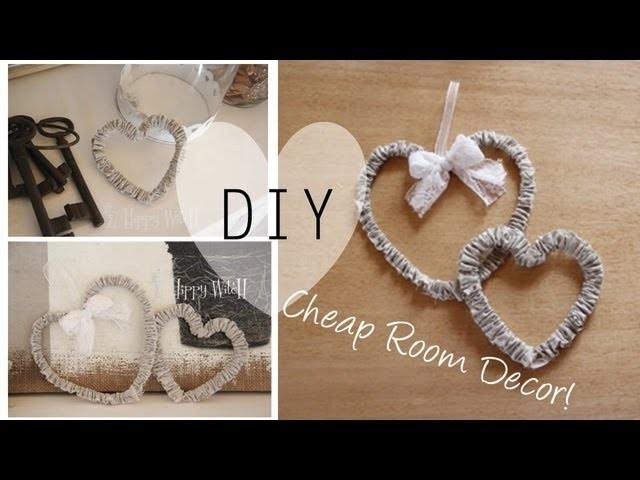 DIY: Cheap Room Decor. Decorazione a Basso Costo