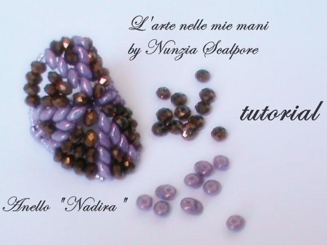 """DIY tutorial ring """"Nadira"""" ( english translation)"""