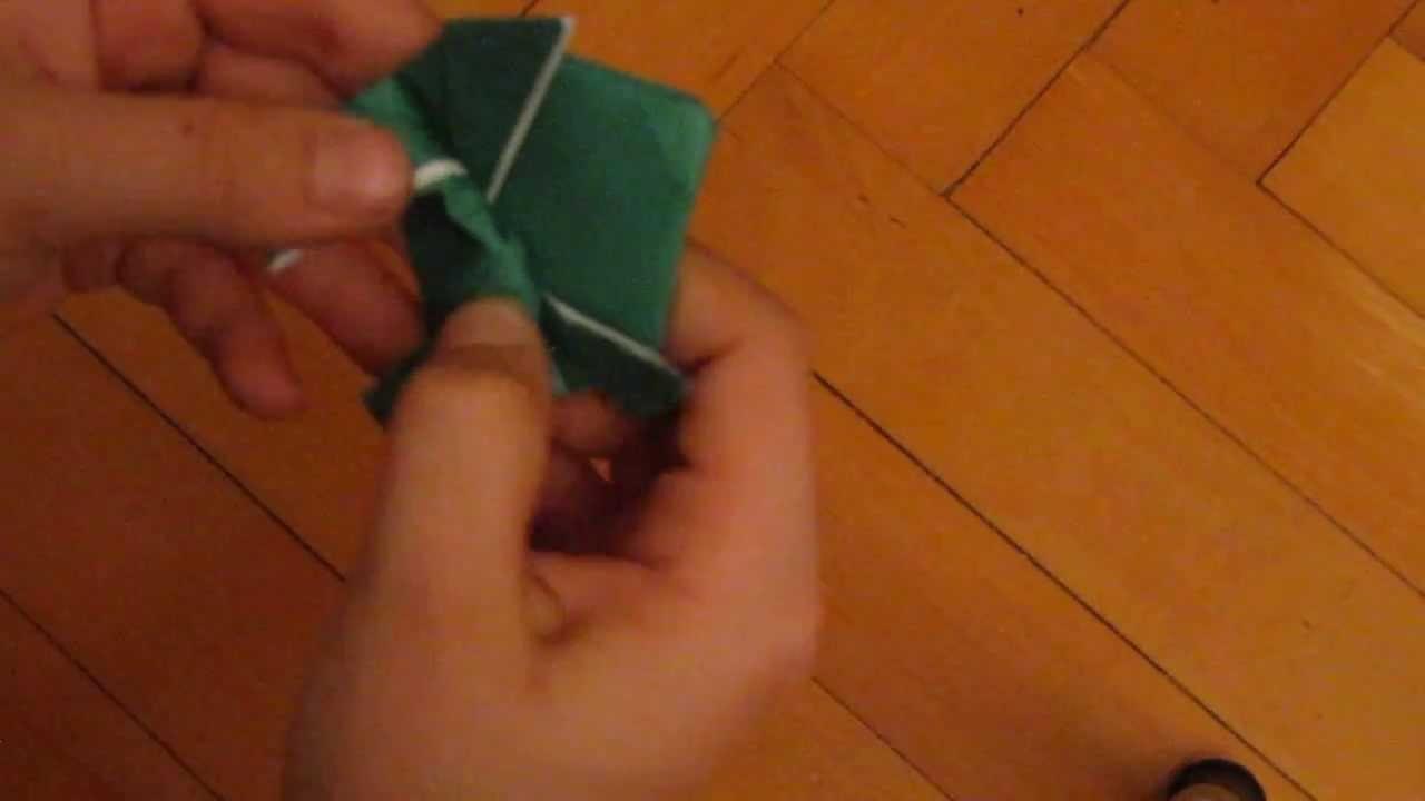 Origami: rana salterina (lezione 1)
