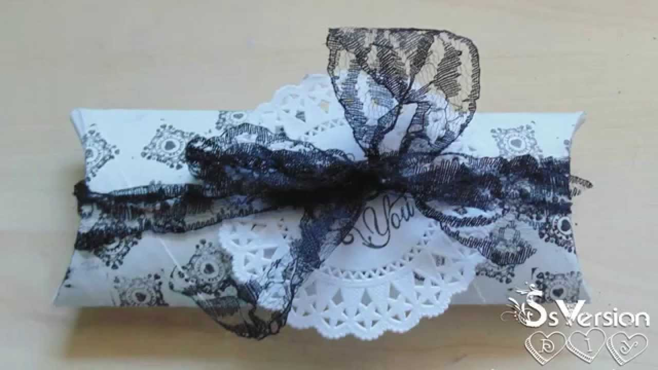 Tutorial: Scatoline Regalo | Riciclo Creativo | DIY Gift Box