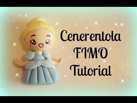 ♡ Cenerentola in Fimo - Tutorial. Cinderella Polymer Clay Tutorial ♡