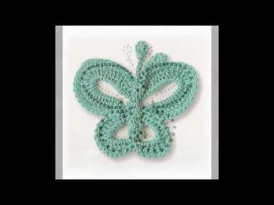 Schema: Farfalla Uncinetto - Livello avanzato