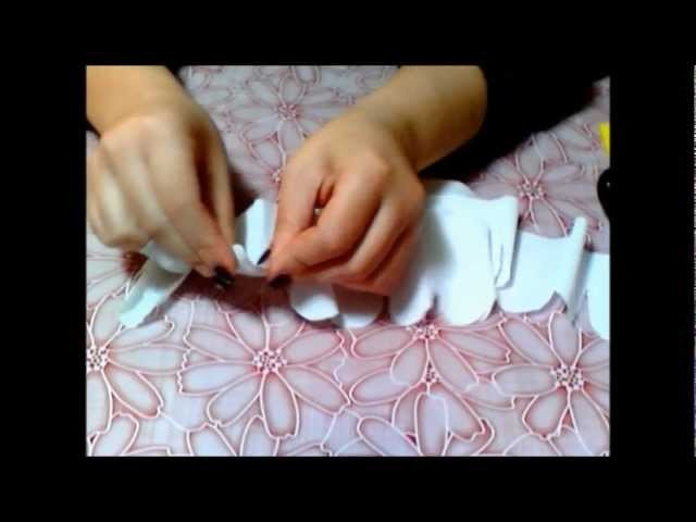 Tutorial Rosa di carta crespa ♥ Paper rose