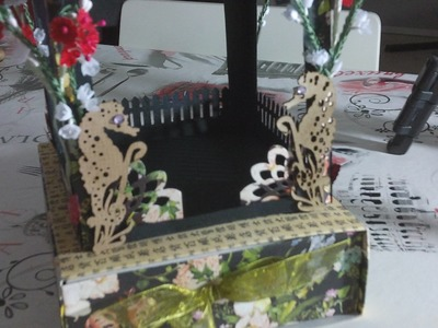 Bird Song Gazebo  (da un tutorial di FollowThePaperTrail) - Scrapbooking Tutorial | Scrapmary