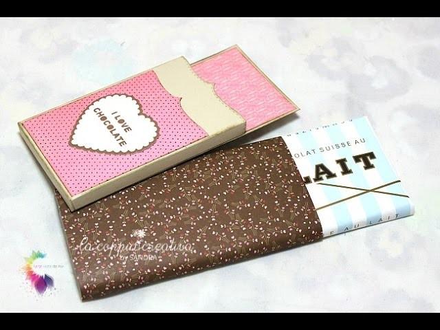 Chocolate Holder Tutorial-Packaging-San Valentino Fai da te-Scrapbooking Tutorial-Valentine's Day