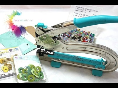 Crop a dile Big Bite Tutorial-We R Memory Keepers-Come usare la Crop a dile-Scrapbooking Tutorial