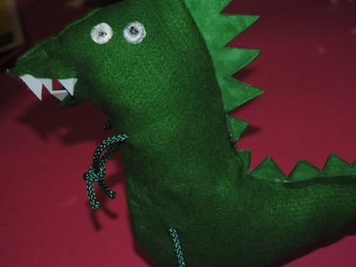 Dinosauro di George Pig DIY Tutorial - How to do Mr.DINOSAUR from PeppaPig