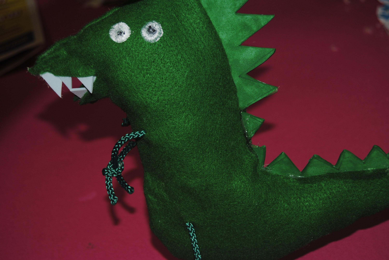 Dinosauro di George Pig DIY Tutorial - How to do Mr.DINOSAUR from PeppaPig
