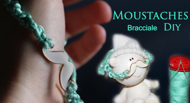 DIY ☆ TUTORIAL bracciale MOUSTACHES + collana chic. vi porto a Parigi ;) ! ☆ Marisa'Style