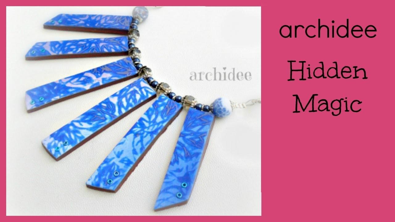 Hidden Magic | Polymer Clay Tutorial | DIY Mokume Gane Texturized Effect