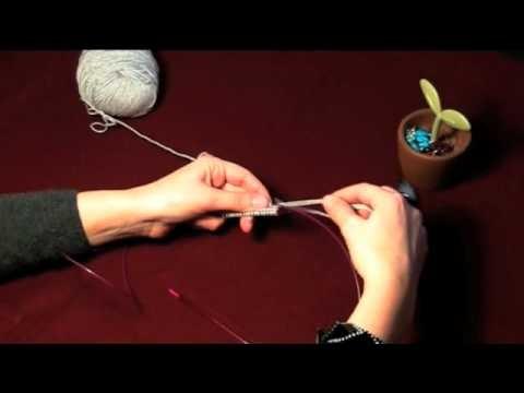Lavorazione in tondo o circolare con Magic Loop (Tecniche Intermedie)