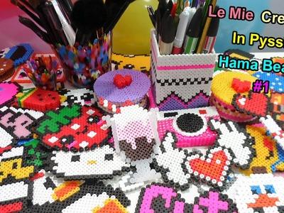 "♥ Le Mie Creazioni In Pyssla (Hama Beads)""My perler.Hama Bead creations""#1 ♥"