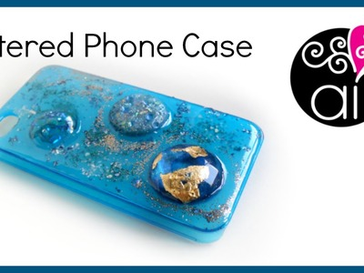 Ops ho resinato una custodia! | DIY Altered Phone Case | Resin Tutorial