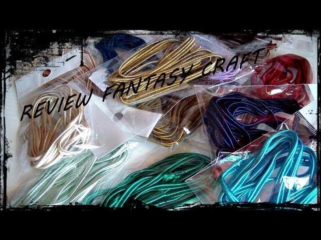 Review Fantasy Craft: Piattine per Soutache