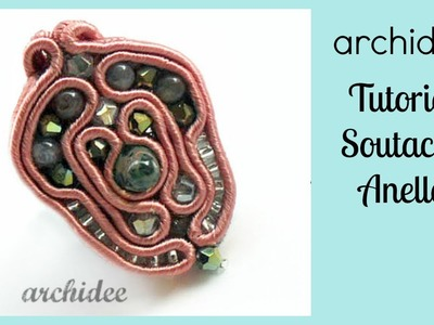 Soutache | Sutasz | Tutorial | Anello Baroque | DIY Soutache Ring