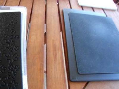 Texture, impression pad e silicone rubber della BIG SHOT