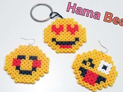 Tre Faccine Emoticon con Pyssla - Hama Beads Tutorial | Emoji Series Episode #1