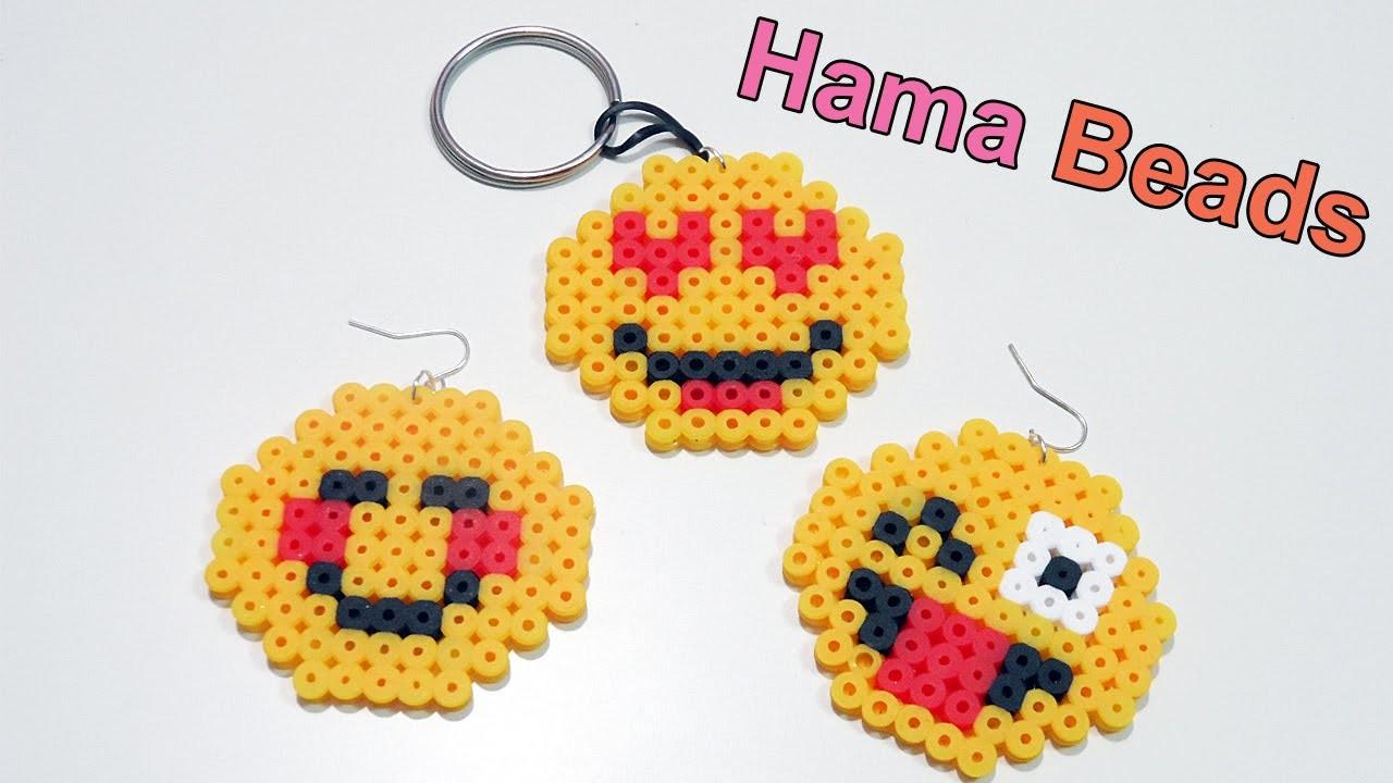 Tre Faccine Emoticon con Pyssla - Hama Beads Tutorial | Emoji Series Episode #1