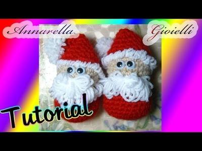 Tutorial amigurumi | Babbo Natale uncinetto | How to crochet Santa Claus (SUB ENG)