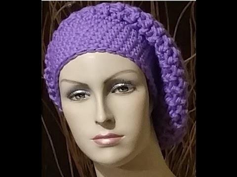 Tutorial basco all'uncinetto - boina crochet - beret crochet