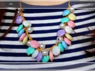 Tutorial: Collana Primaverile | DIY Spring Pastel Necklace