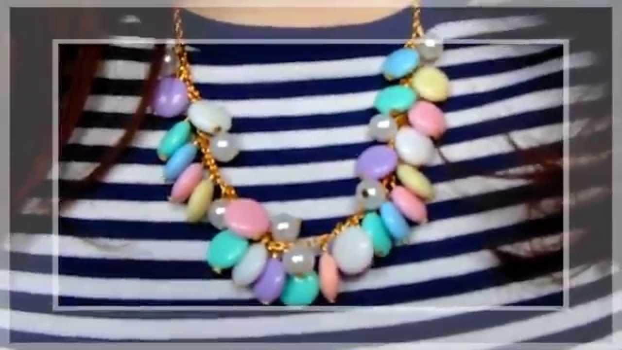Tutorial: Collana Primaverile | DIY Spring Pastel Necklace