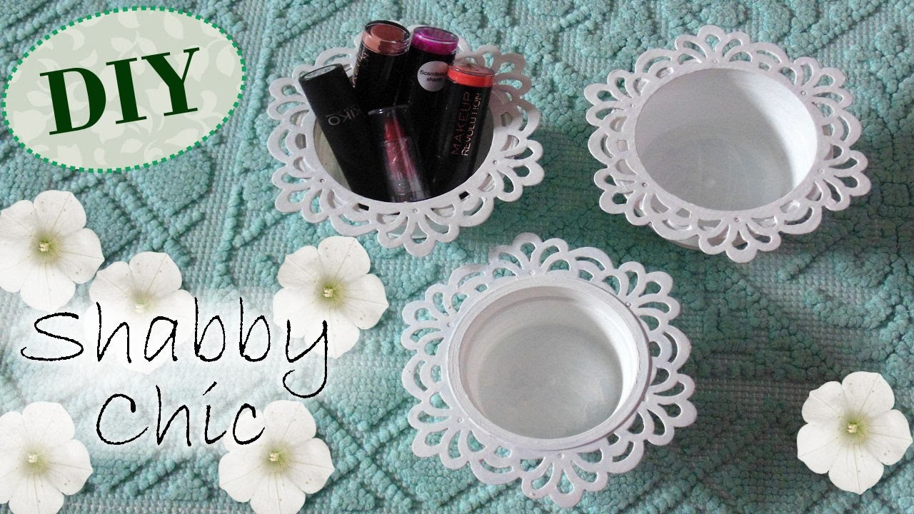 Tutorial: Contenitori Decorativi Shabby Chic | Riciclo Creativo | DIY Decoration