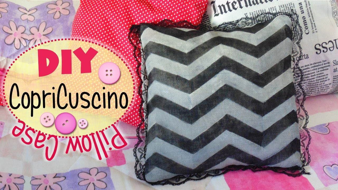 Tutorial: Copri-Cuscino senza Cuciture | DIY Pillow ✂ No Sew ✂