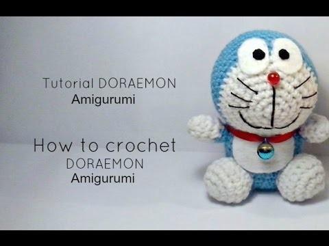 Tutorial DORAEMON amigurumi | HOW TO CROCHET DORAEMON Amigurumi