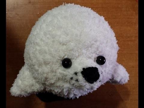 Tutorial Uncinetto - la foca amigurumi - sello crochet - crochet seal -