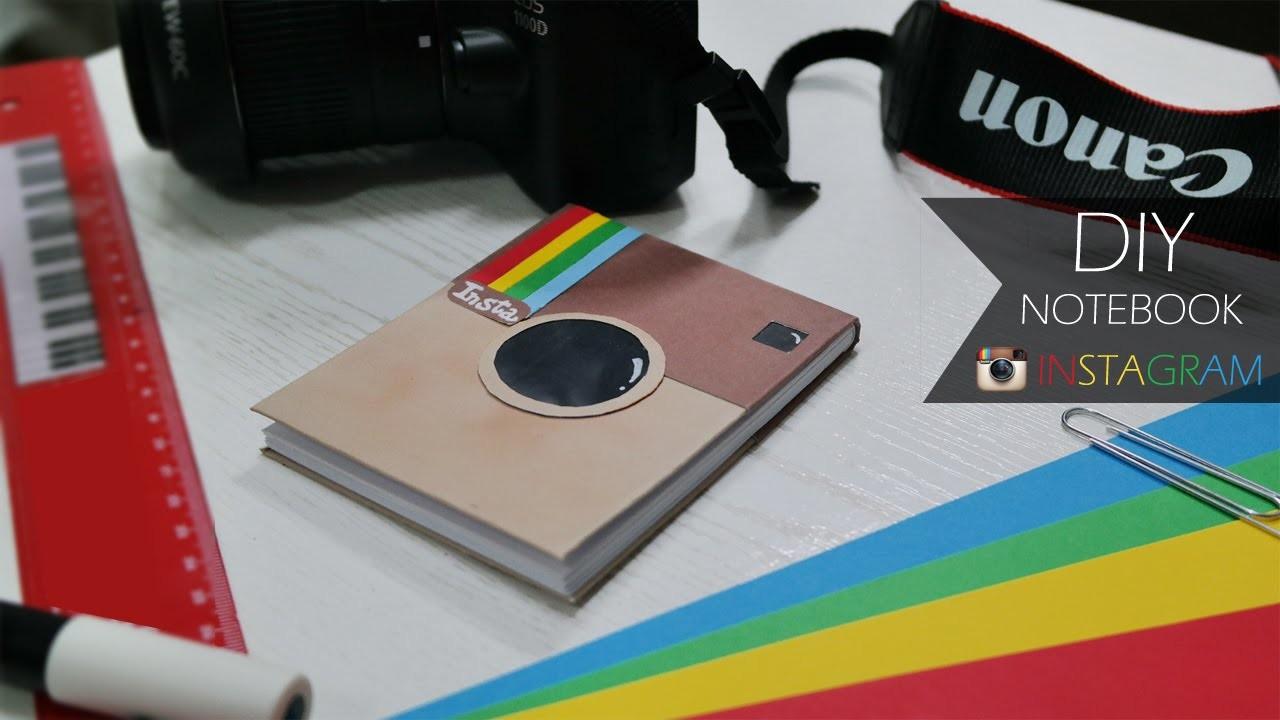 DIY Notebook ◤ Instagram ◥