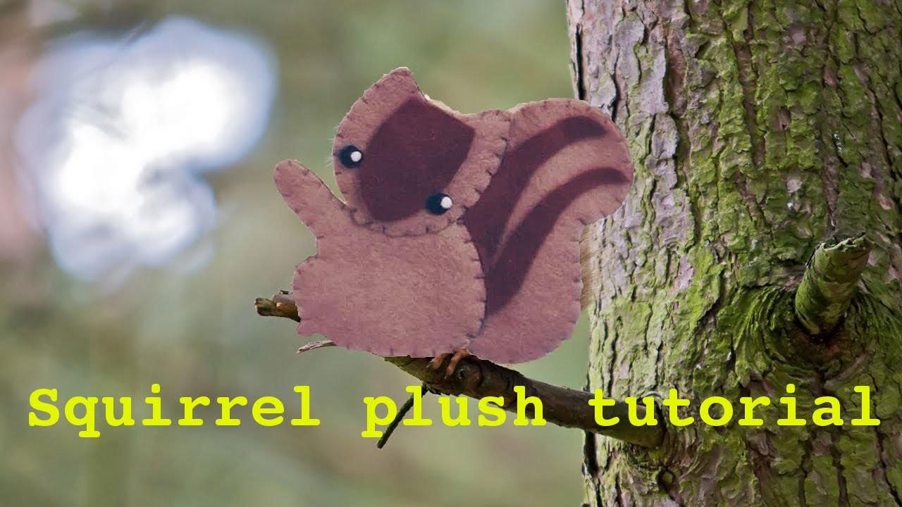 Easy squirrel plush tutorial (Marochan inspired)