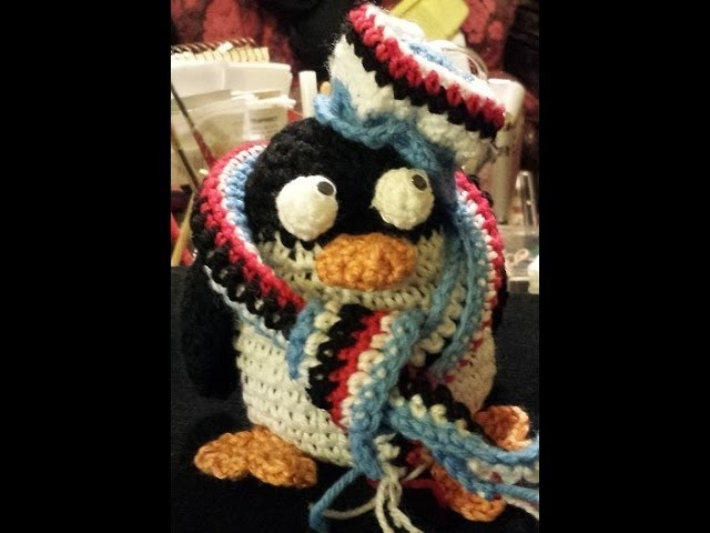 Pinguino Amigurumi Sampdoria   Tutorial uncinetto crochet