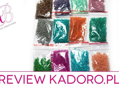 Review acquisti Kadoro - Perline, perline perline.  Beads, beads, beads! #handmadebot #handmade